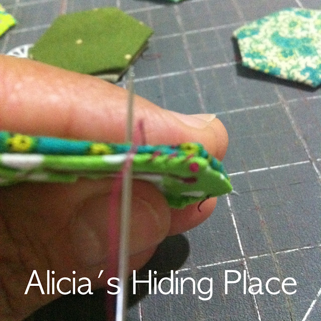 Alicia\'s hiding place: \
