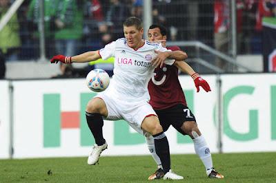 Hannover 2 - 0 Bayern Munich (1)
