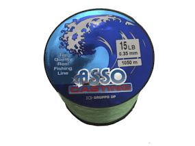 Asso Casting Sea / Carp Fishing Line 4oz Spool