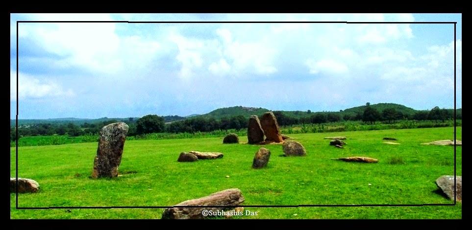 Megaliths of Punkri Burwadih