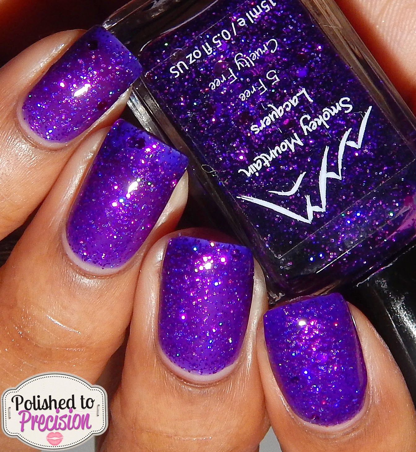 Smokey Mountain Lacquers Purple Iris