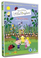 The Elf Games, Ben and Holly, Little Kingdom, DVD release, DVD,