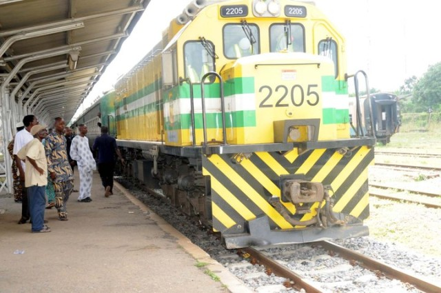 Take a train from Lagos to Kano