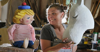 Moominland Midwinter puppets