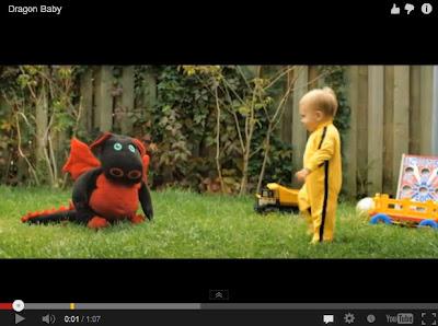 Video Lucu Aksi Bayi Naga