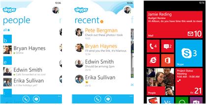Skype for Samsung Ativ S