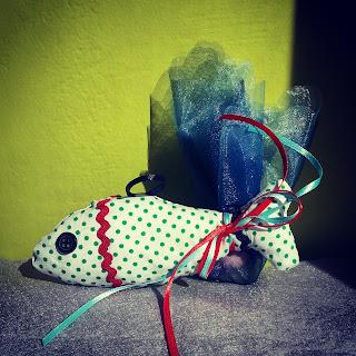 μπομπονιέρα ψαράκι