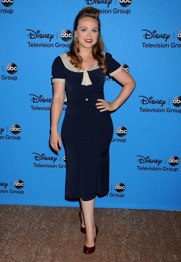 Amanda Fuller at the Disney & ABC's 2013 Summer TCA Party