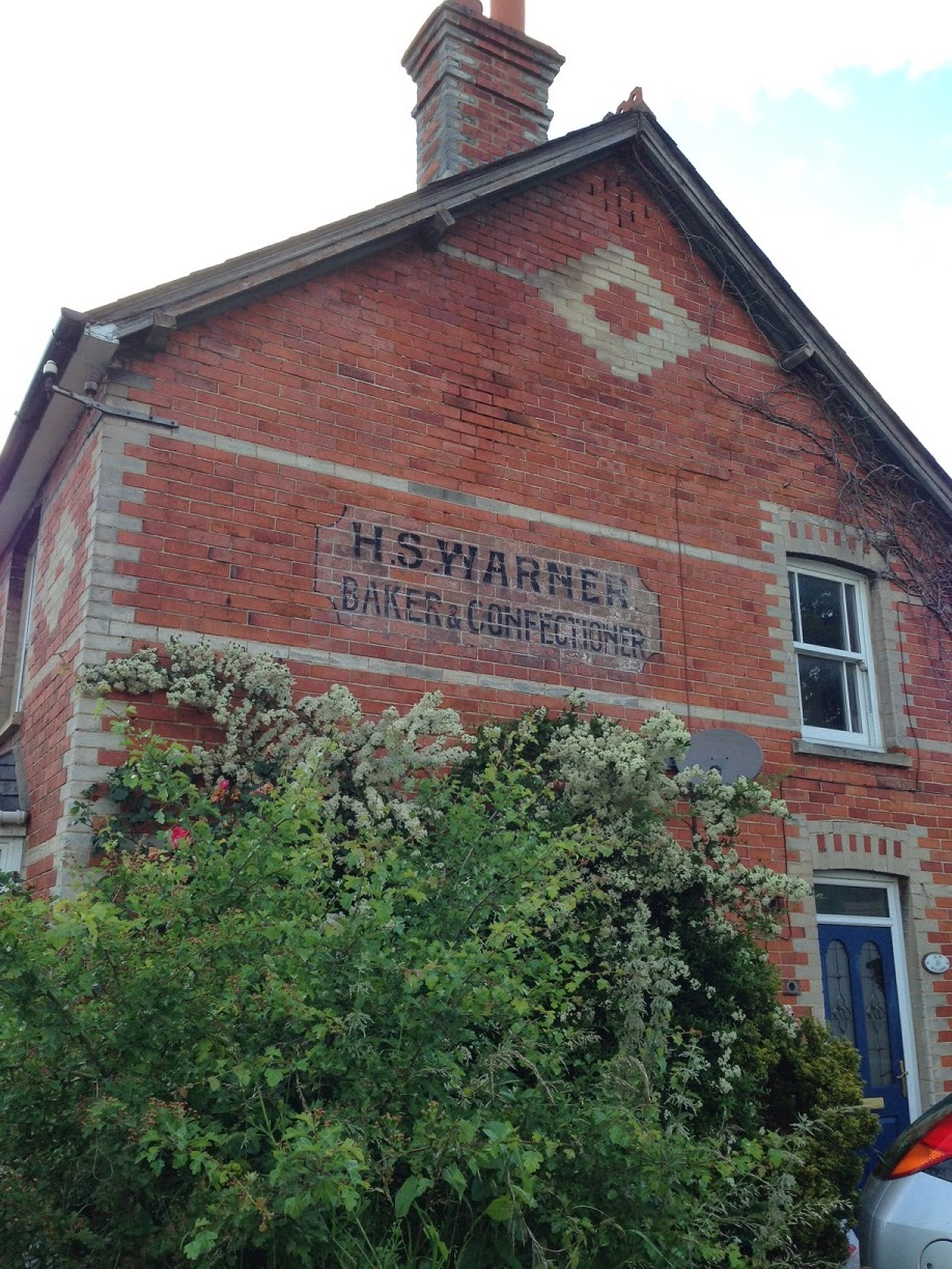 Ghost sign, Woolhampton, Berkshire