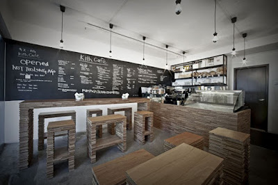 Kith Cafe Design de Interiores por Hjgher
