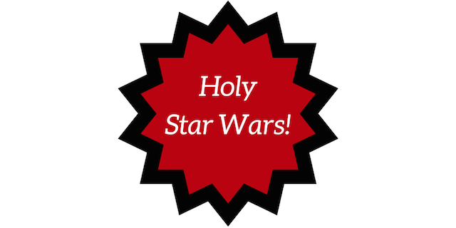 Holy Star Wars!