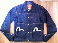 Made in italy - rare evisu denim jacket.