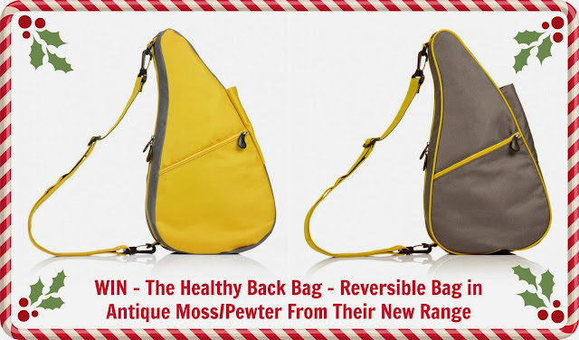 WIN The Healthy Back Bag  - reversible