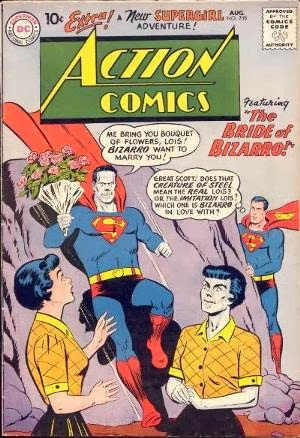Action Comics #255 comic