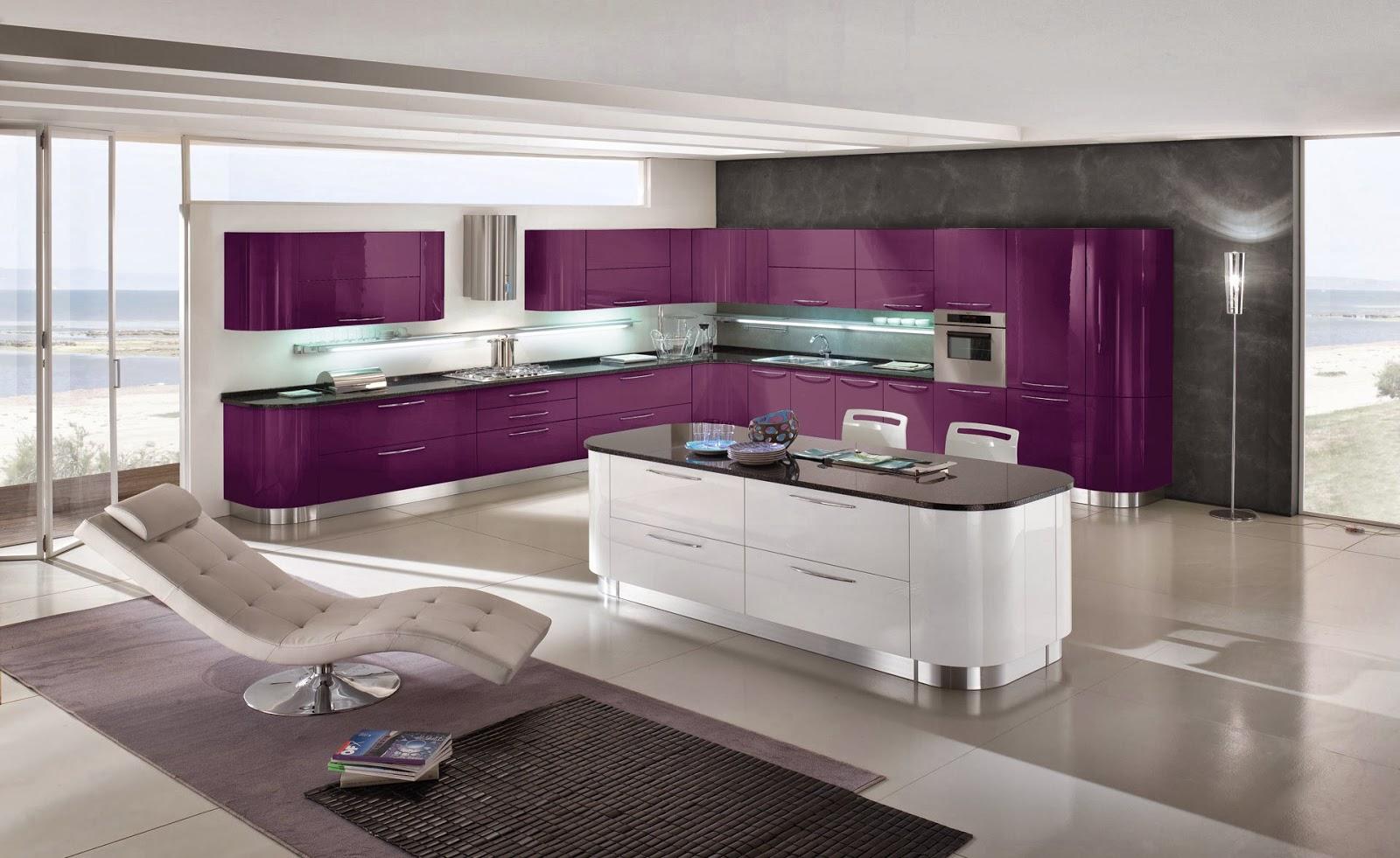 Cocinas descaradamente abiertas cocinas con estilo for Isletas para cocinas