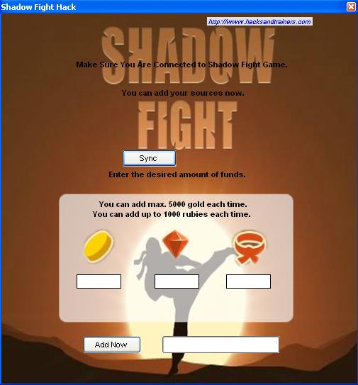 Shadow Fight Cheats Tool