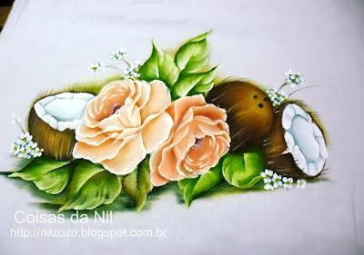 rosas e cocos