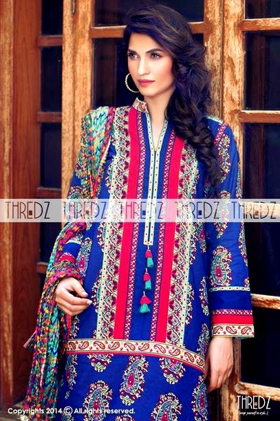 Thredz - Eid Lawn Collection 2014