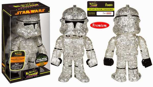 Star Wars Celebration 15 Exclusive Star Wars Hikari Sofubi Vinyl Figures - Star Clone Trooper