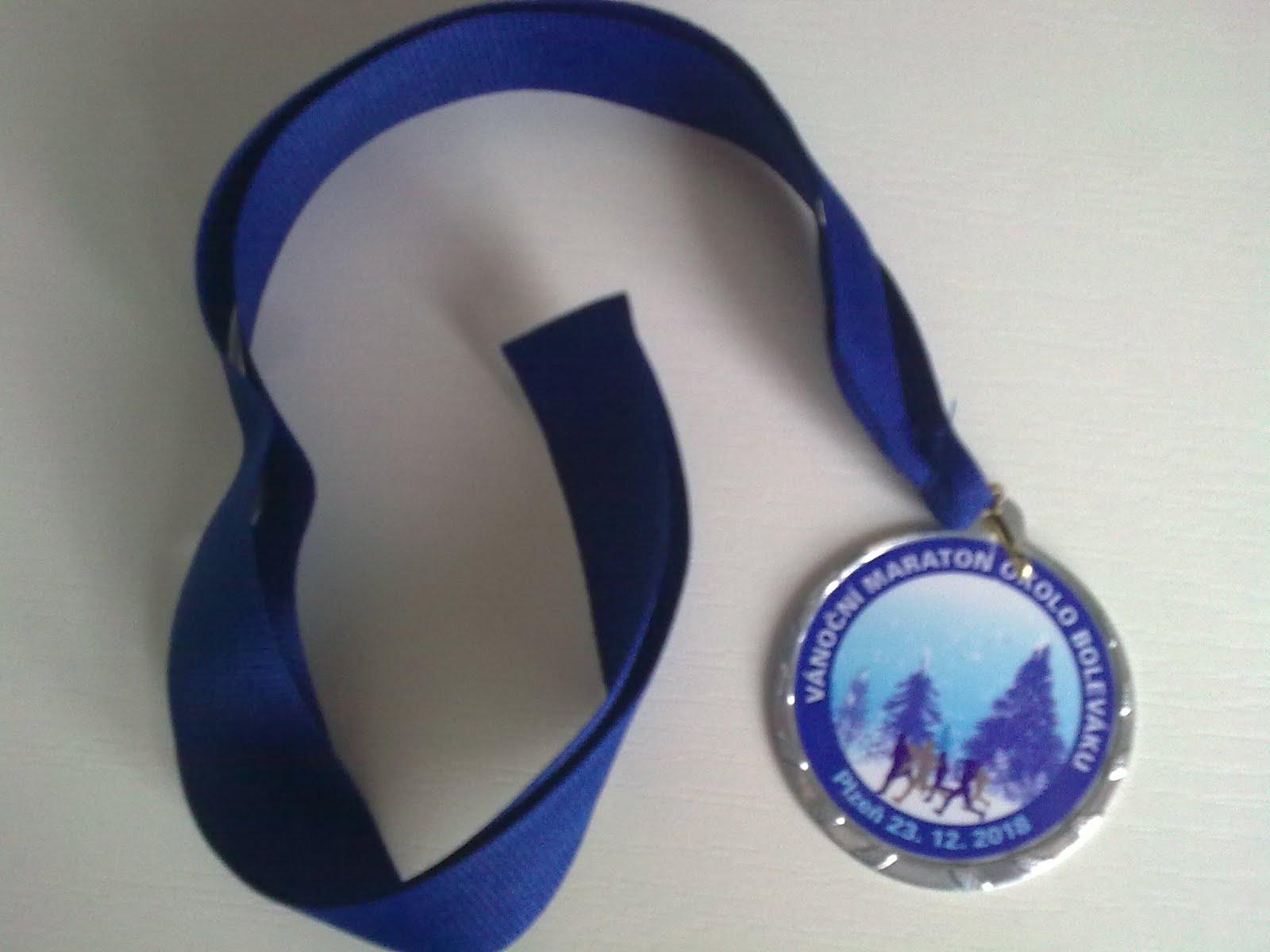 43. Vánoční maraton okolo Boleváku 23.12.2018 :-)