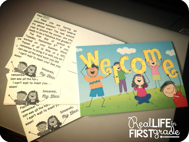 Real Life in First Grade: Print Directly Onto Postcards for Your Students