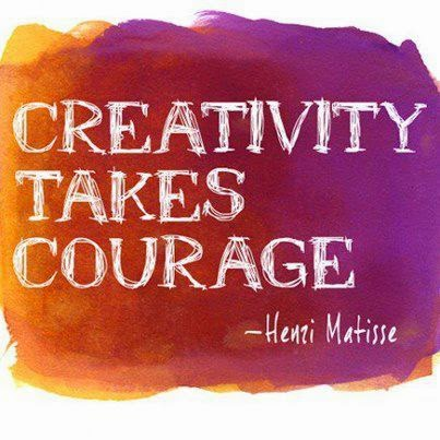 "IMPROVISATION- CLICK ""CREATIVITY TAKES COURAGE"" TO WATCH!"