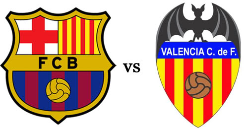 FC Barcelone Valence live en direct 01-02-2014