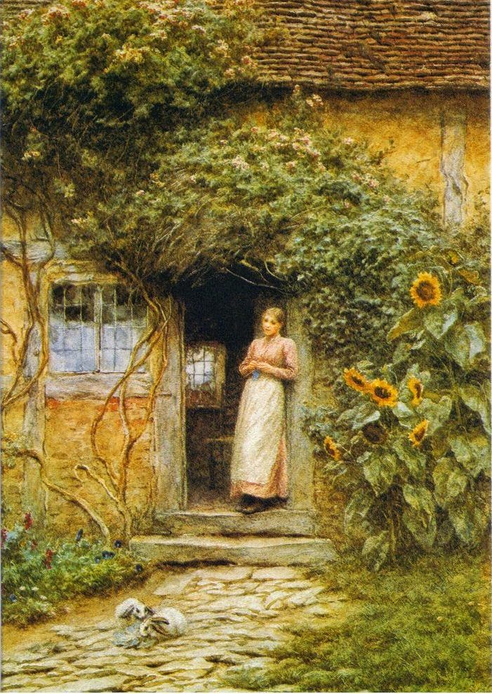 My little old world gardening home poetry and for Appello di marciapiede cottage