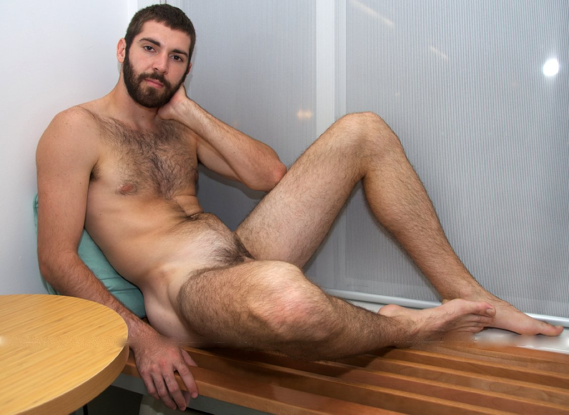 man hairy hot hung