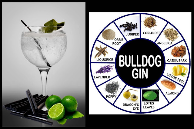 gin tonic bulldog botanicos