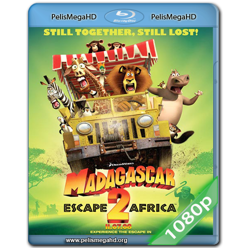 MADAGASCAR 2 (2008) FULL 1080P HD MKV ESPAÑOL LATINO