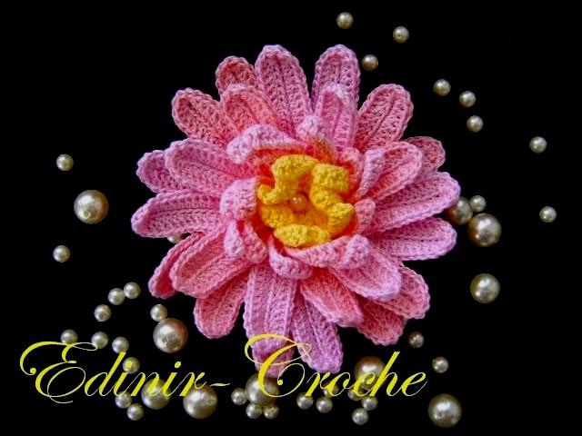 dvd video aula croche flores margarida rainha edinircrochevideos loja cursodecroche aprendercroche
