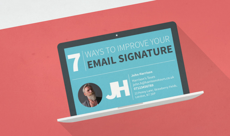 Close more sales by perfecting your email signature - #infographic