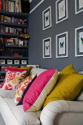 decoración paredes color gris