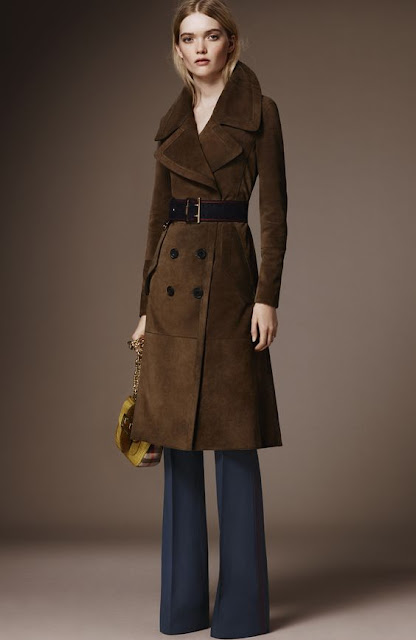 Look Burberry outono inverno 2015-2016