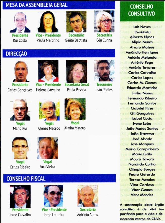Corpos Gerentes 2017/2019