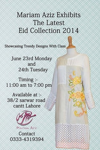 Mariam Aziz Eid Collection 2014-15