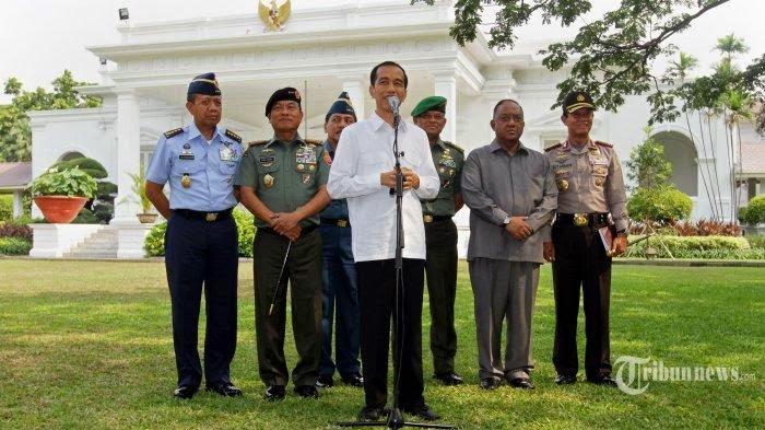 Jokowi Akan Geser Sejumlah Jenderal di TNI dan Polri