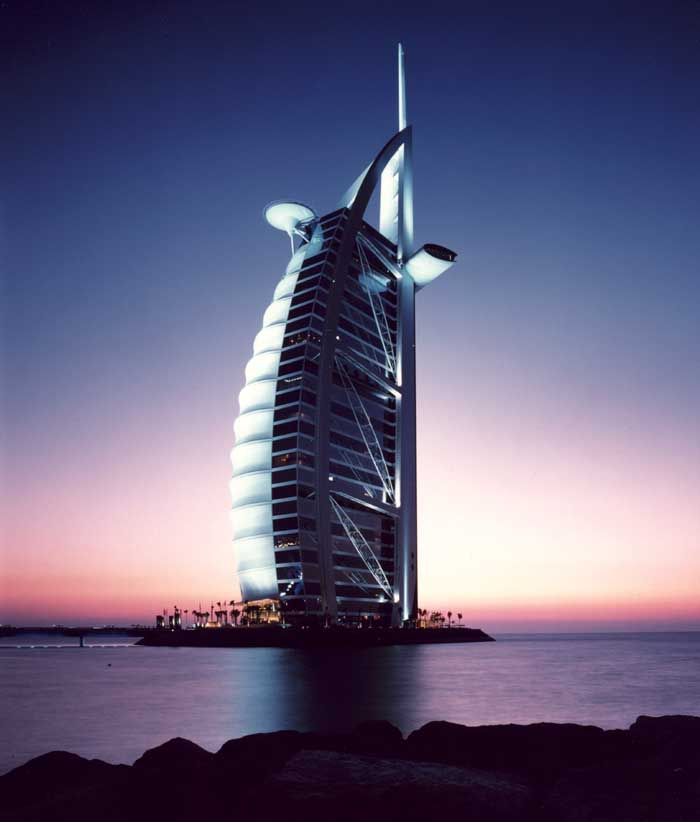 All about the famous places famous buildings of dubai new for Architecture arabe