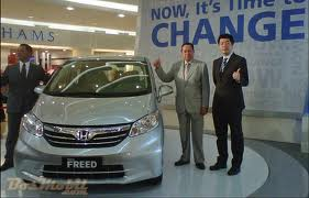 Honda New Freed 2012 Terbaru