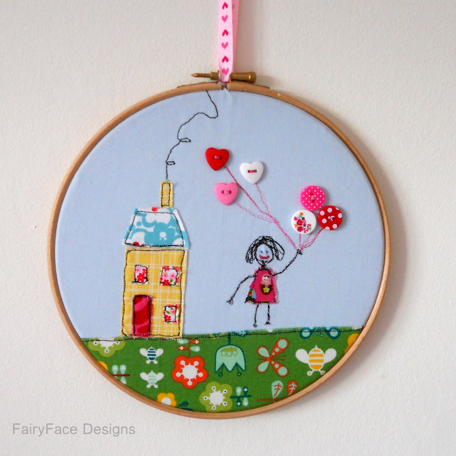Fairyface designs sew get started freestyle embroidery