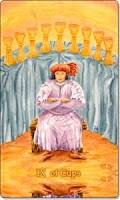 Nine of Cups, Aquatic Tarot, www.aquatictarot.de