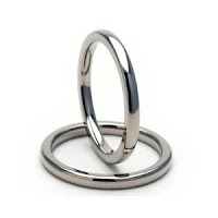 New 2mm Titanium Ring w/ Comfort Fit Band 100's