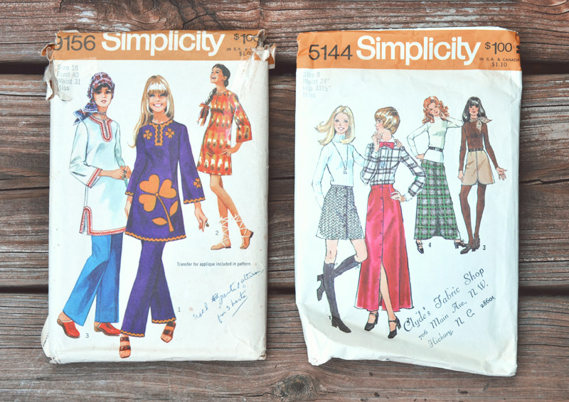 The Flying Clubhouse: Vintage Goodies - Simplicity 70s Patterns