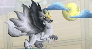 imagen del dragon luna o dragon moon