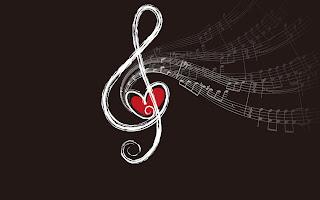 Ground Key Heart Music HD Wallpaper