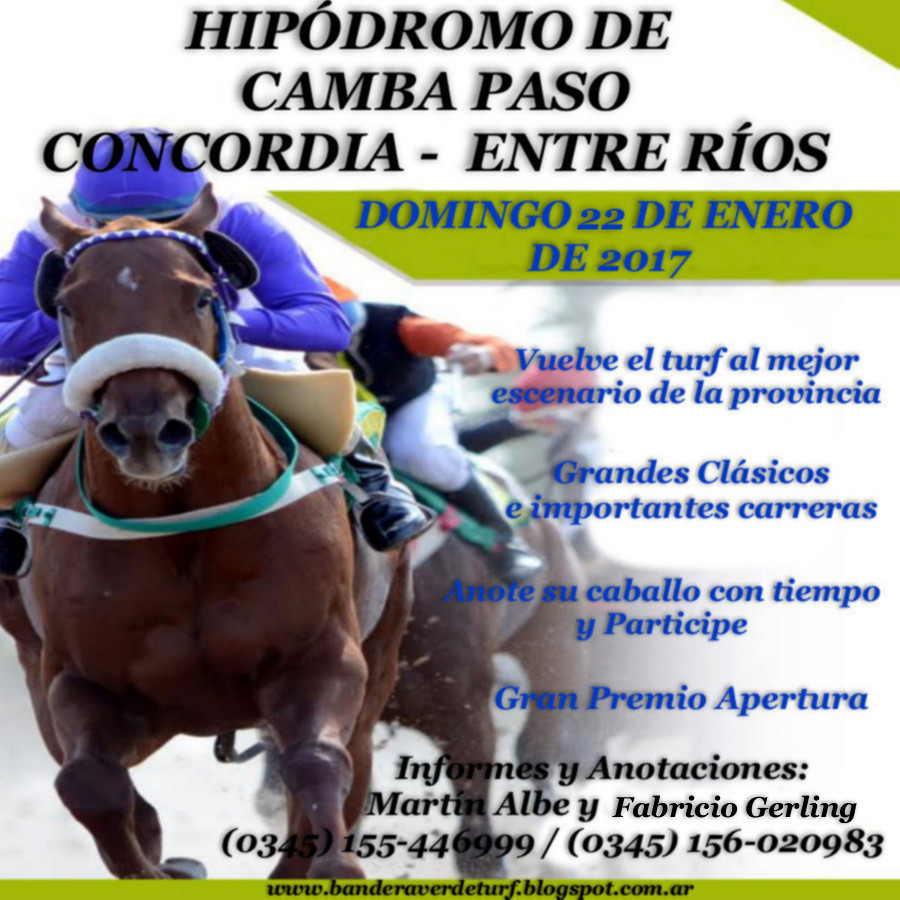 CONCORDIA 15 DE ENERO