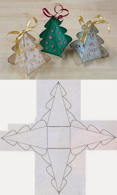 Diy christmas tree box template diy crafts tutorials for Diy box crafts