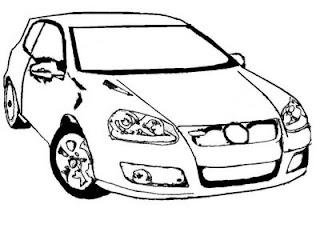 Desenho Para Colorir Carros tunados para pintar e colorir