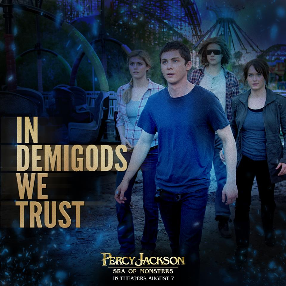 Percy jackson demigods and monsters